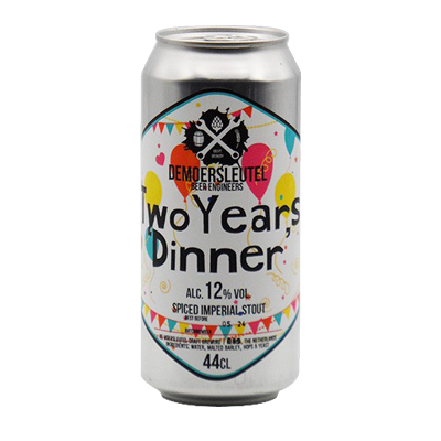 De Moersleutel Two Year's Dinner Imperial Stout