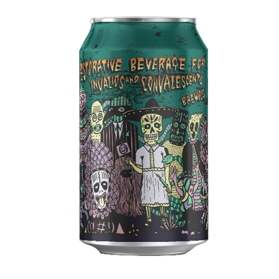 Restorative Beverage For Invalids And Convalescents Imperial IPA