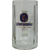 Lowenbrau Glass Stein