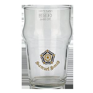 Samuel Smith Half Pint Glass