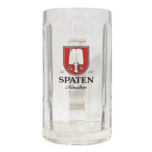 Spaten Glass Stein