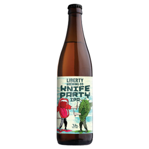 Liberty Knife Party IPA 500ml