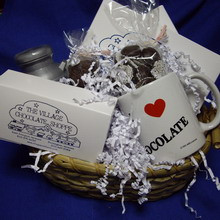 """I Love Chocolate"" Gift Basket"