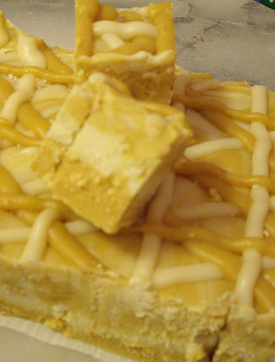 Fudge - Pumpkin Cheesecake