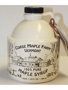 Vermont Maple Syrup - Quart