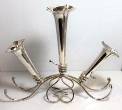 Antique English Sheffield Silver-Plated Epergne, Circa 1900-1910.