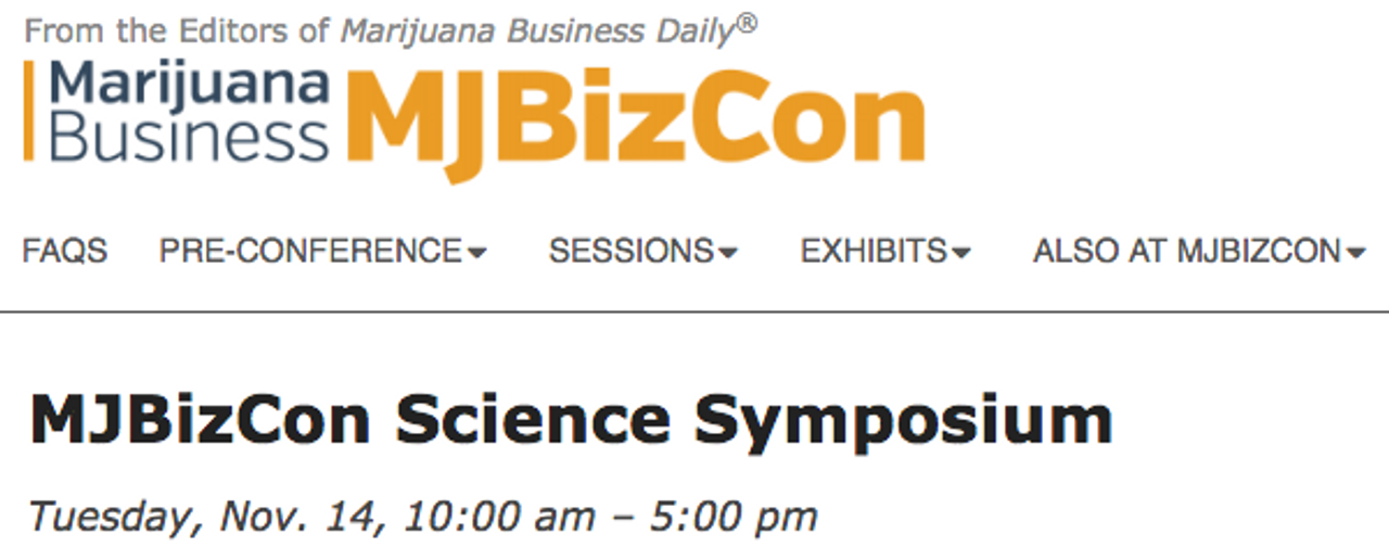MJ Business Daily and Emerald Scientific Partner to Produce the MJBizCon Science Symposium in Las Vegas