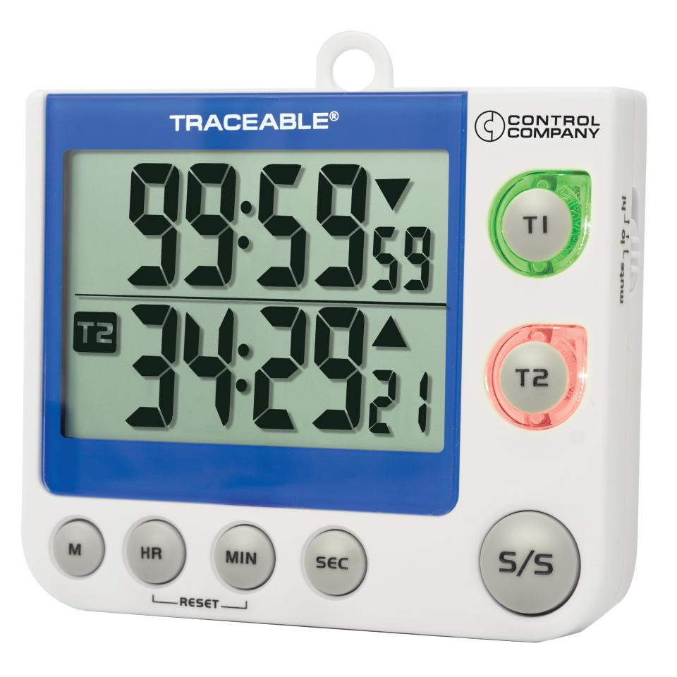 Traceable® Flashing LED Alarm Big-Digit Timer