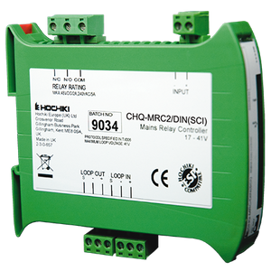 CHQ-MRC2-DIN-SCI | Hochiki Addressable Din Rail Mounted Mains Relay Controller