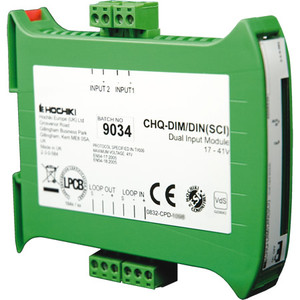 CHQ-DIM2-DIN-SCI  | Hochiki Addressable Din Rail Mounted Dual Input Module
