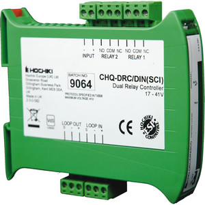 CHQ-DRC/DIN | Hochiki Addressable Din Rail Mounted Dual Relay Controller