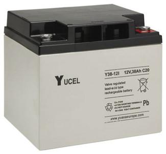 YUCEL38-12  |  Yuasa 38AH 12V Battery