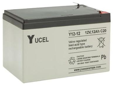 YUCEL12-12     Yuasa 12AH 12V Battery