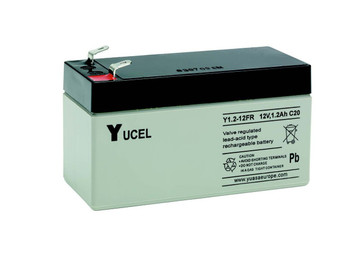 YUCEL1.2-12  |  Yuasa 1.2AH 12V Battery