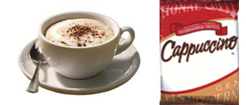 Flavored Cappuccino Mix