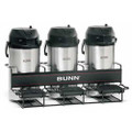 Bunn Univ 3 Coffee Maker Airpot Rack