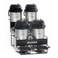 Bunn Univ 4 Coffee Maker Airpot Rack