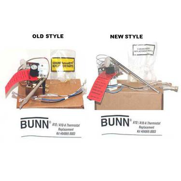 Bunn Coffee Maker Cleaning Kit : Bunn A10 Coffee Maker Thermostat - E.W. Inc.