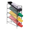 HHD 4 Section Vertical Cup/Lid Rack