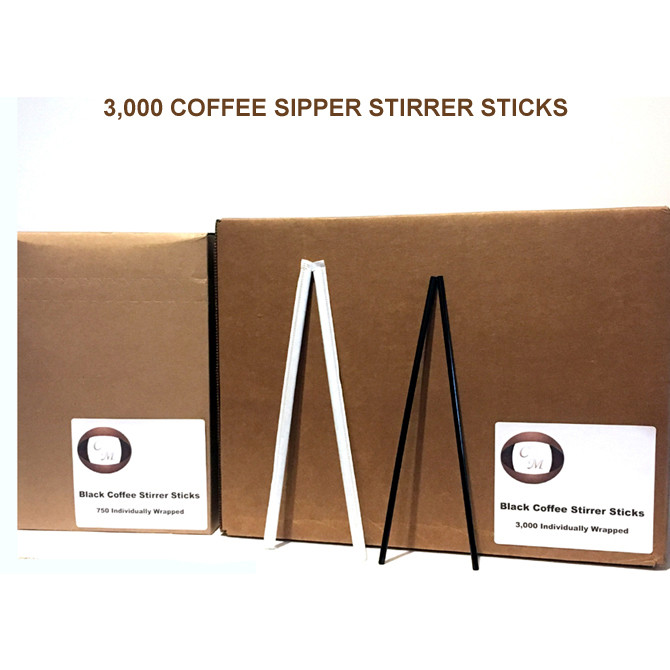 Coffee Sipper Stirrer Sticks 8
