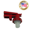 Tomlinson Red Touchguard Faucet Upper Assembly