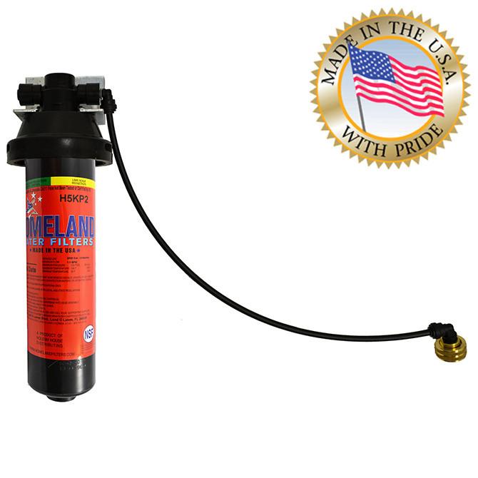 Homeland Keurig KQ8A Water Filter System + 3/4