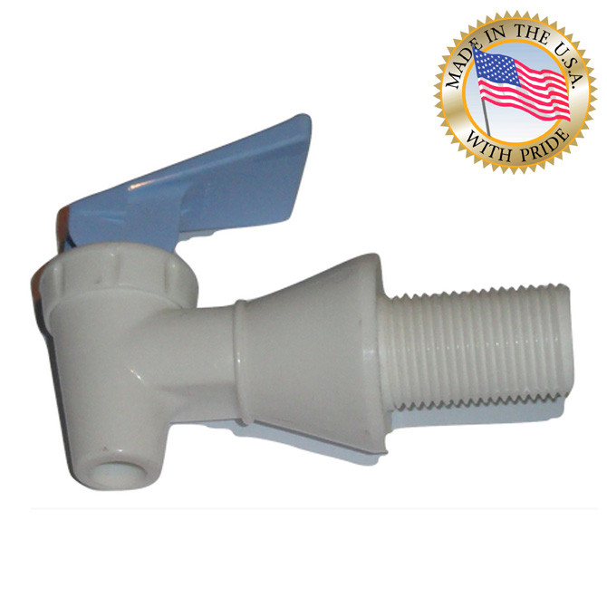 Tomlinson 1014667 Water Cooler Faucet Assembly White Blue