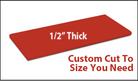 Custom Cutting Board - 3/4 Inch Thick - Red