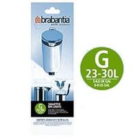 Brabantia 30 litre Webshopsacs poubelles (G)