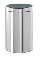 Brabantia 40 litre Touch bin dans l'acier brillant