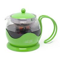 La cafetière 2 tasse théière en vert pomme