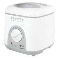 1.0Ltr Lloytron E6010WH Compact Friteuse en blanc