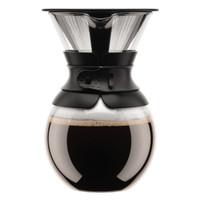 Bodum versez sur la cafetière avec filtre permanent 1 litre noir