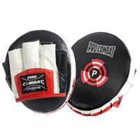 PRO COMBAT 7.0 BULLSEYE LEATHER PRECISION MICRO PUNCH MITTS