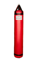 Muay Thai Heavy Punching Bag Red (130 Pound) Filled