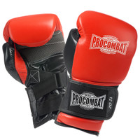 PRO COMBAT® PC7 REVOLUTION BAG GLOVES Red / Black
