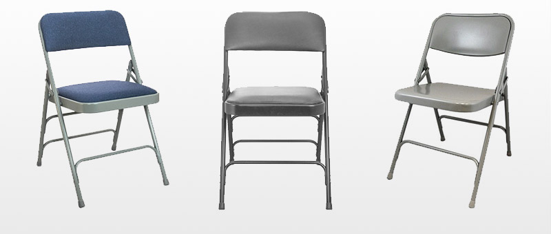 Metal Folding Chairs · U003e