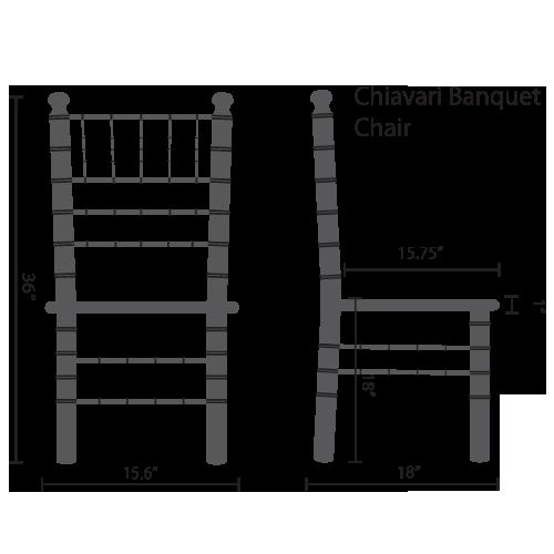 wooden chiavari banquet chairs