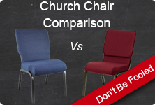 Church Chair Comparison