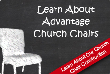Advantage Church Chair Features