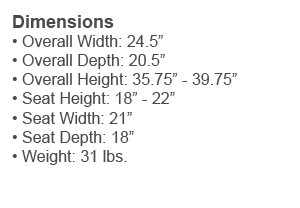 Chair Dimensions