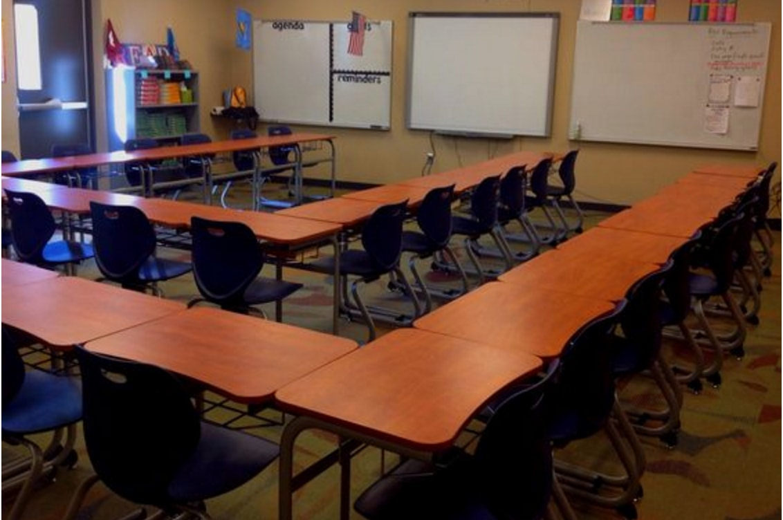 The 21st Century Classroom: 7 Ways to Arrange Collaborative Desks ...