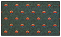 Premium Hunter Green Pattern Crown Back Banquet Chair Fabric Swatch