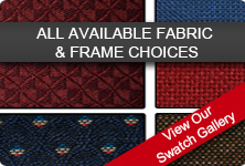 All Available Fabric And Frame Choices