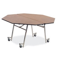 Virco 60-inch Octagonal Mobile Cafeteria Table [MT60OCT]
