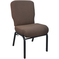 Advantage Signature Elite Java Church Chair [PCRCB-106] - 20.5 in. Wide