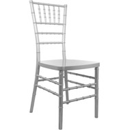 Advantage Silver Resin Chiavari Chair [RSCHI-S]