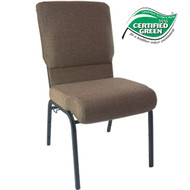 Advantage Jute Church Chair 18.5 in. Wide [PCHT185-112]