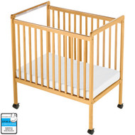 Foundations SafetyCraft Compact Fixed Side Crib - Clearview [1632040]