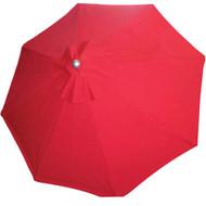 BFM Seating 9 ft. Aluminum Market Umbrella - Fiberglass Frame [U9F]